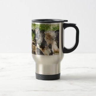 Cows in the Field Travel Mug