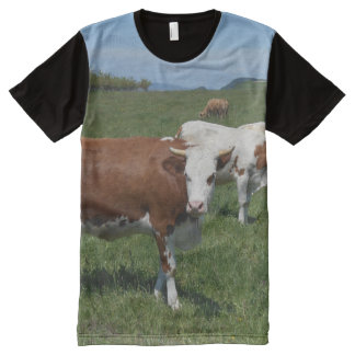 Cows In The Pasture All-Over-Print T-Shirt