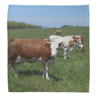 Cows In The Pasture Bandana