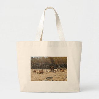 Cows Large Tote Bag