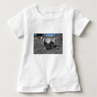 COWS QUEENSLAND AUSTRALIA BABY ROMPER