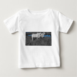 COWS QUEENSLAND AUSTRALIA WITH ART EFFECTS BABY T-Shirt