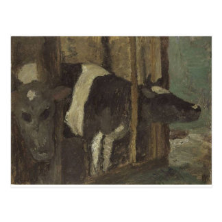 Cowshed by Paula Modersohn-Becker Postcard