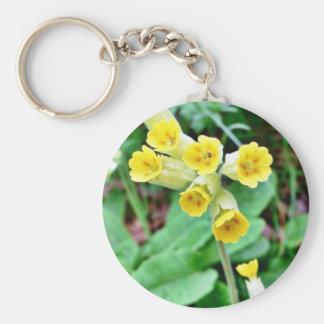 Cowslip Flower Keychain