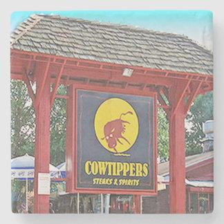 Cowtippers, Atlanta Marble Stone Coaster. Stone Coaster