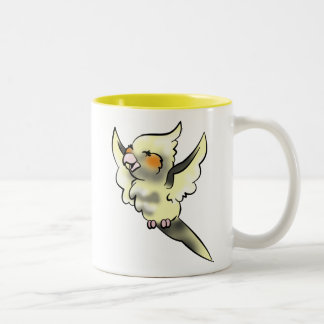 Coy Cockatiel Coffee Cup
