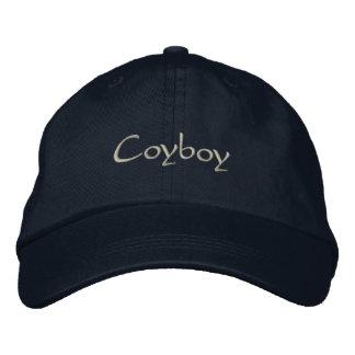 Coyboy Embroidered Baseball Cap