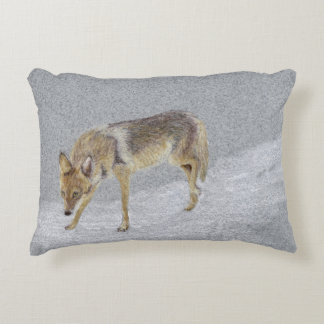 Coyote Accent Pillow