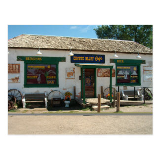 Coyote Bluff Cafe in Amarillo, Texas   Postcard