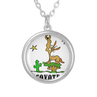 Coyote by Lorenzo © 2018 Lorenzo Traverso Silver Plated Necklace