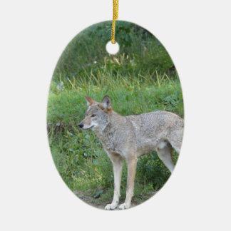 Coyote Collection Ceramic Ornament