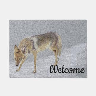Coyote Doormat