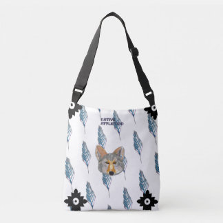 Coyote-Feathers Crossbody Bag