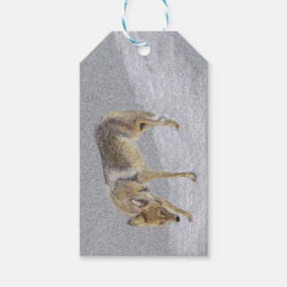 Coyote Gift Tags