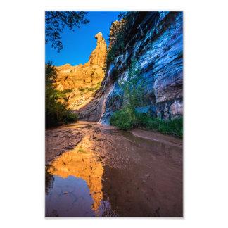 Coyote Gulch Sunrise - Utah Photographic Print