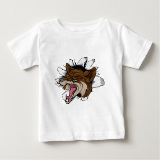Coyote mascot break out baby T-Shirt