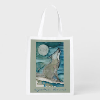 Coyote Moon | Riverwood Reusable Grocery Bag