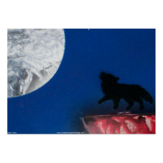 coyote moon small large business card