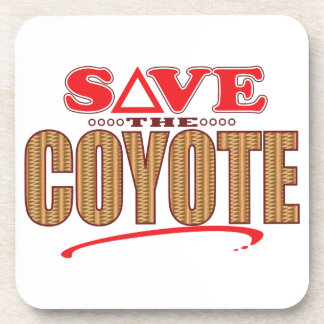 Coyote Save Coasters