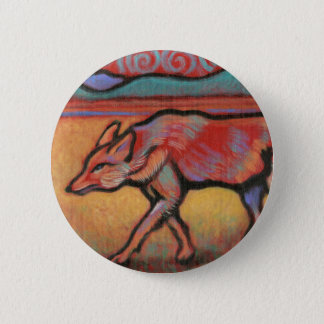 Coyote - Spirit Animal - Totem 2 Inch Round Button