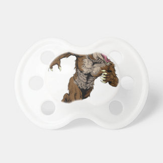 Coyote Sports Mascot Baby Pacifier