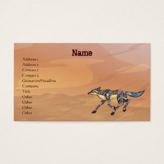 Coyote the Trickster Business Cards