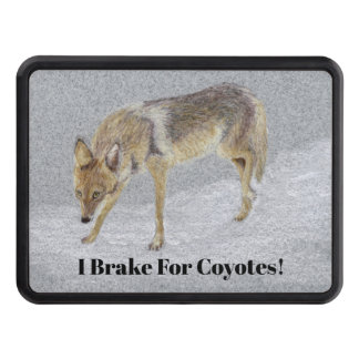 Coyote Trailer Hitch Cover