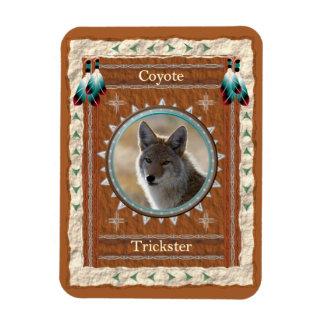 Coyote  -Trickster- Vinyl Flexi Magnet