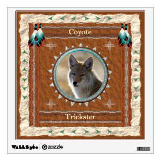 Coyote  -Trickster- Wall Decal