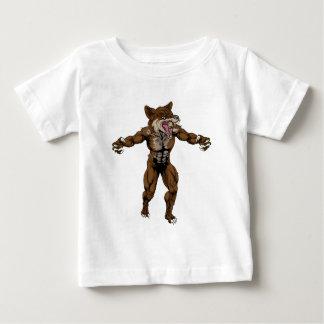 Coyote Wid Dog Mascot Baby T-Shirt