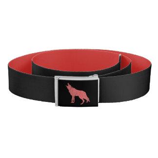Coyote wolf howl belt