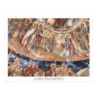Cozia Monastery Postcard
