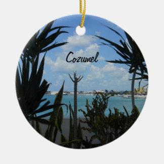 Cozumel Ceramic Ornament