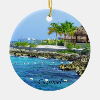 Cozumel Chankanaab Park Travel Ornament
