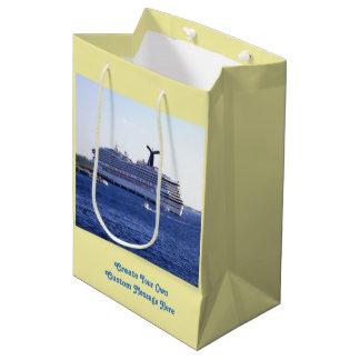 Cozumel Cruise Ship Visit Custom Medium Gift Bag