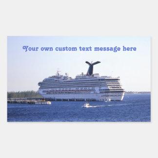 Cozumel Cruise Ship Visit Custom Sticker