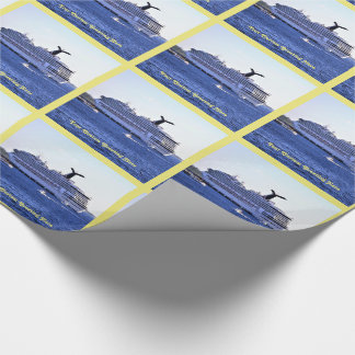 Cozumel Cruise Ship Visit Custom Wrapping Paper