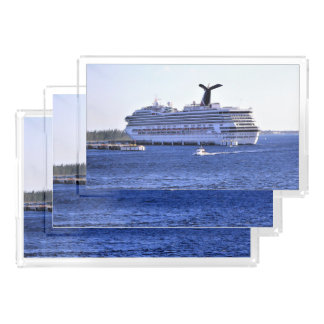 Cozumel Cruise Ship Visitor Acrylic Tray