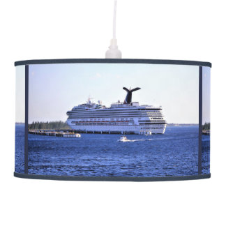 Cozumel Cruise Ship Visitor Hanging Pendant Lamp