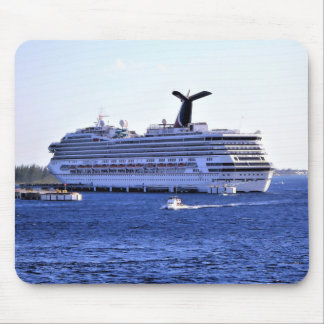 Cozumel Cruise Ship Visitor Mouse Pad