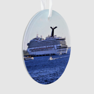 Cozumel Cruise Ship Visitor Ornament