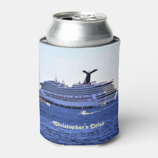 Cozumel Cruise Ship Visitor Personalized Can Cooler