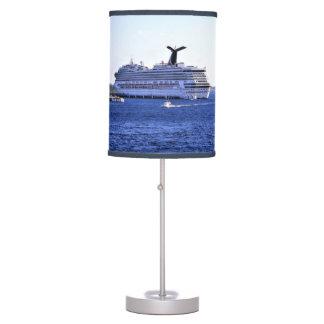 Cozumel Cruise Ship Visitor Table Lamp