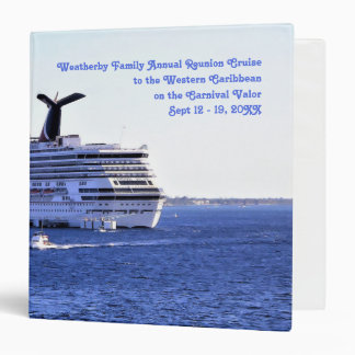 Cozumel Cruise Visitor Custom Cruise Memory Book Binder