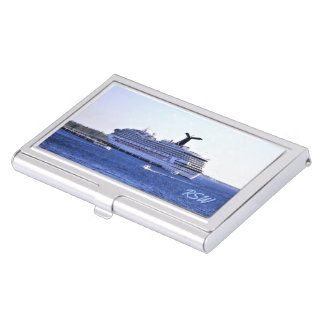 Cozumel Cruise Visitor Monogrammed Case For Business Cards