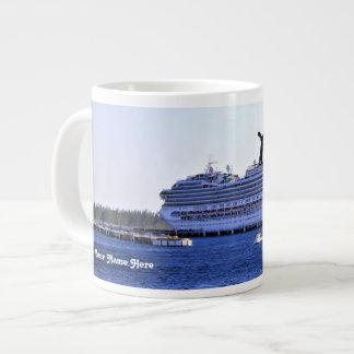 Cozumel Cruise Visitor Personalized Large Coffee Mug