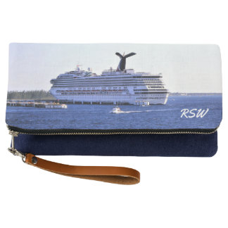 Cozumel Cruise Visitpr Monogrammed Clutch