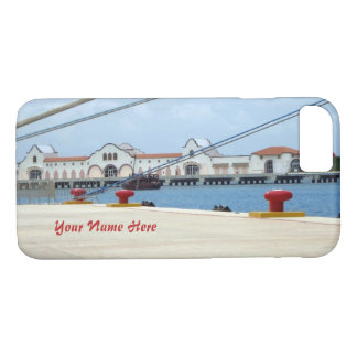 Cozumel Dockside Personalized iPhone 7 Case