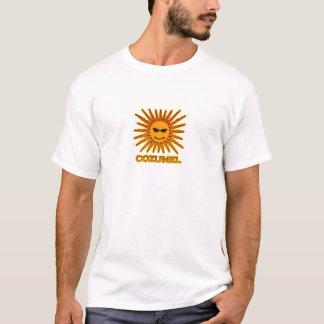 Cozumel Mexico Sun Logo T-Shirt