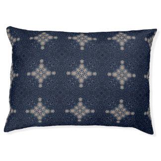 Cozy Blue Custom Indoor Dog Bed - Large